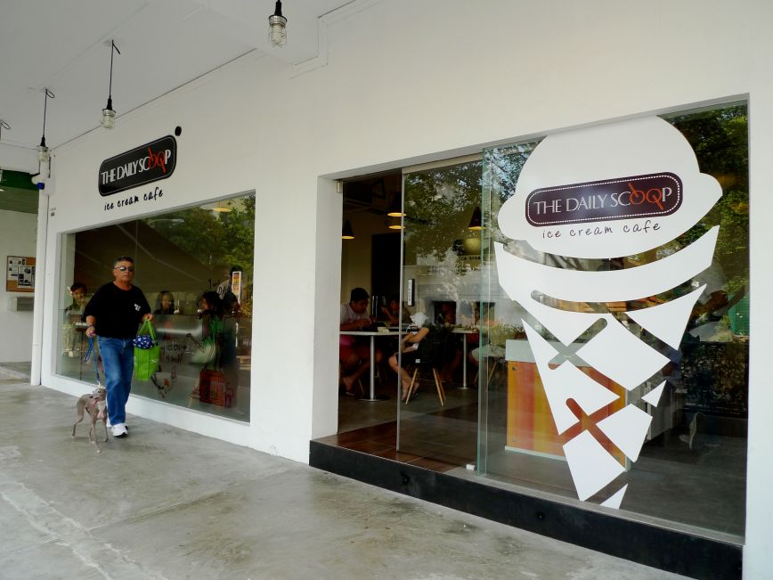 The Daily Scoop Ice Cream Store in Holland Village Singapore