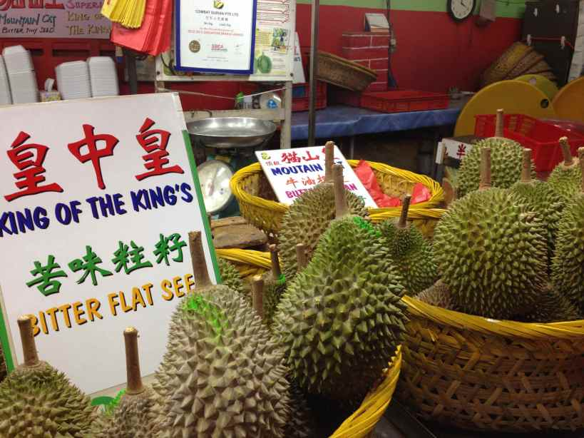 Durians Available at Combat Durian